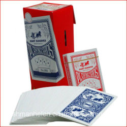Factory Custom Casino Paper/Plastic Poker Playing Cards/Game Cards