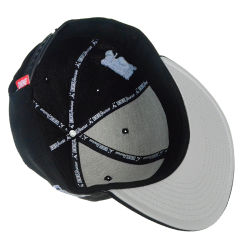 Custom Visor Golf Cap High Quality 3D Embroidery Flat Bill Snapback Hats Fashion Sport Cotton Adult Baseball Cap