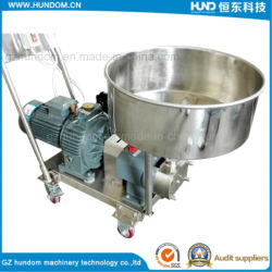 Sanitary Food Grade Molasses Thick Viscosity Liquid Transfer Pumps