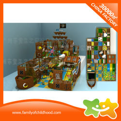 Pirate Ship Indoor Soft Sport Equipment Children Indoor Playground for Sale