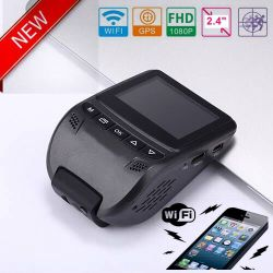2017 New ID 2.4inch Car DVR with GPS Tracking Route Car Dash Camera by Google Map Playback, GPS Logger Car Digital Video Recorder DVR-2408