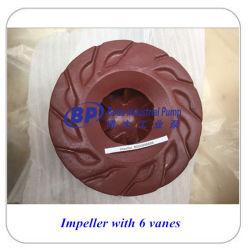 Centrifugal Anti Abrasion Slurry Pump Parts Impeller