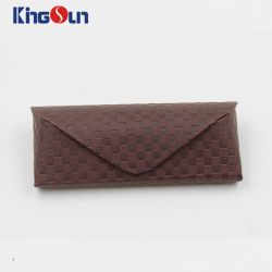 New Coming Spectacle Case Glasses Case Sunglasses Case Design Grid Pattern Most Popular Kh1005