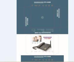 3G WCDMA Fwp Mobile SIM Phone with TNC and Spanish Multi Language