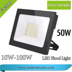 New Design High Power LED Flood Light 20W, 30W, 40W, 50W, 100W for Projection Outdoor LED Lighting