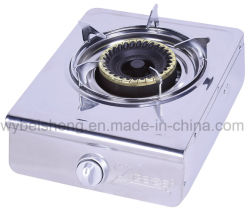 Single Burner Gas Cooker, Stainless Steel,