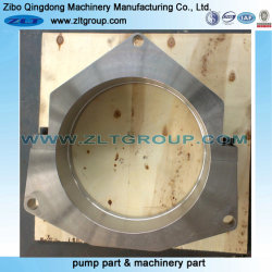 Customized Stainless/Carbon Steel Casting Split Plate for CNC Machining