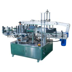 Double Side Labeling Machine Flat Square Round Bottle/Sticker Labelling Packing Filling Capping Machine Label Applicator Manufacturer
