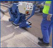 Airport Runway Rubber Remove Machine