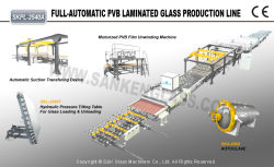 Skpl-2540A Full-Automatic PVB Laminated Glass Production Line