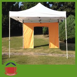 Outdoor Advertising Square Steel Tube Folding Tent with Door & China Steel Tube Tent Steel Tube Tent Manufacturers Suppliers ...