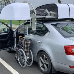Wct Car Wheelchair Carrier for Wheelchair Loader