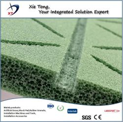 Sports Ground Use PE Foam Shock Absorbing Pad for Artificial Turf Grass