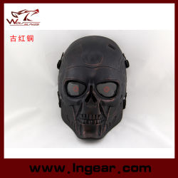 Tactical Airsoft Wire Mesh Terminator Skull Party Mask