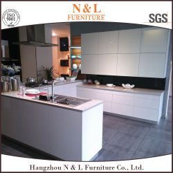 N&L Modern Furniture High Gloss Lacquer MDF Wood Kitchen Cabinet