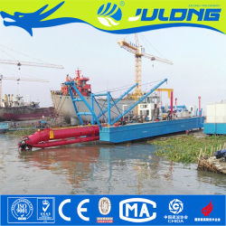 Julong Hydraulic Cutter Suction Dredger Machine and Equipment for Dredging Sea Sand River Sand Extraction Dredging