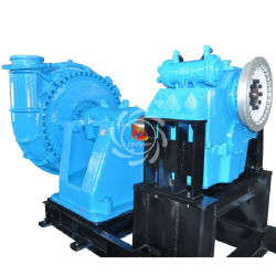 High Capacity with High Wear Resistant Wetted Part River Dredging Gravel Slurry Pump