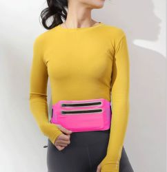 Leica Tight Slim Waist Bag Outdoor Voltage Double Zip Sports Fanny Pack
