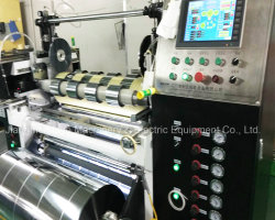 Servo Drive High Speed Wave Shape Slitting Machine for Film Factory Direct