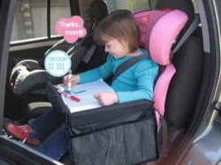 Toy Holder Folding Baby Car Seat Kids Travel Play Tray