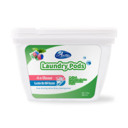 Airsto Cloth Washing Apparel Liquid Detergent, Laundry Detergent Pacs 30 Count