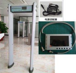 """New Design IP65 WaterProof 33 Zones Security Door Frame Metal Detector Gate with 7"""" LCD Display"""