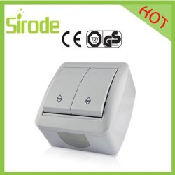 8001 Series Double Push Button Switch