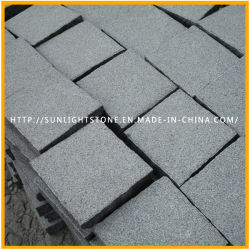 Cheap Natural G654 Grey Granite Paving Stone, Cobblestone, Cubestone