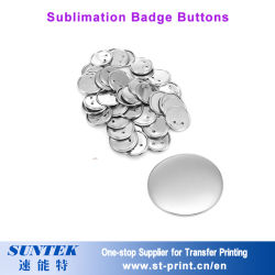DIY Sublimation Blank Custom Round Button Badge