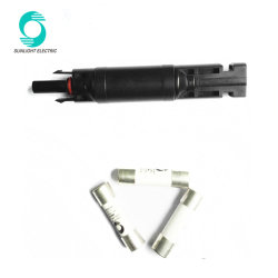 Wspvfcc IP67 1000VDC 30A Solar PV Mc4 in-Line Fuse Connector