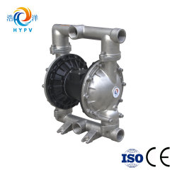"""Air Operated 2"""" High Temperature Stainless Steel 304/316 Pneumatic Waste Sludge Oil Pump"""