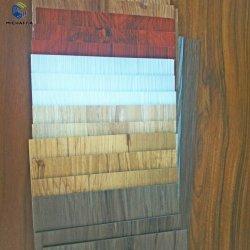 100% Virgin Material Interlocking PVC Vinyl Plank Flooring Tile Sheet Dry Back