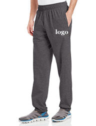 Customize Wholesale Cotton and Polyester Fleece Mens Sports Pants with Private Label