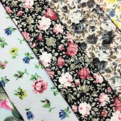 Handmade Popular Floral Printed Slim Cotton Tie