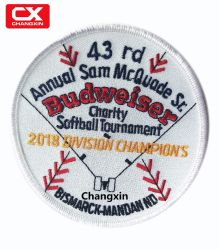 d3fe9dbf3cf768 Champions Logo Embroidery Badge in Garment Tag