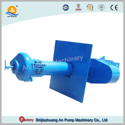 Vertical Slurry Sump Pump Pit Discharge Submersible Cutting Blade Pump