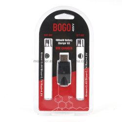 Thc Cbd Oil Battery Kit Double Preheating Vape Pen Batteries 400mAh Vape Fit 510 Thread Cartridges Vertex Battery Law Battery Bogo Cbd Battery