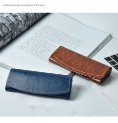 Simple, Fashionable, Competitive Price Leather Glasses Frame Case/Box Mock up