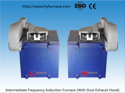 Dust Removal System Aluminum Electric Induction Melting Furnace in Industrial