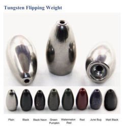 Bullet Worm and Flipping Tungsten Fishing Weight