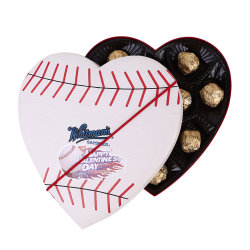 Wholesales Custom Luxury Heart Sports Chocolate Box
