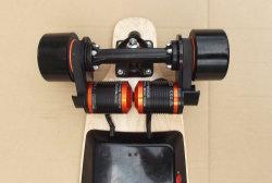 New Bamboo Maple Electric Longboard Skateboard Deck Wheel