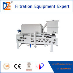 Automatic Drum Type Belt Filter Press for Solid Liquid Separation Handling