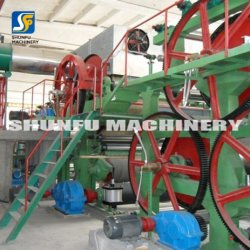 Recycle Waste Paper Full Automatical Kraft Paper Making Machine Line Mill