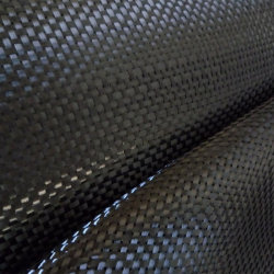 1K 80g-140g Bidirectional Plain Carbon Fiber Fabrics Designing Sport Equipment