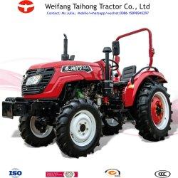 Hydraulic Steering 30hp 4 Wheel Drive Tracteur