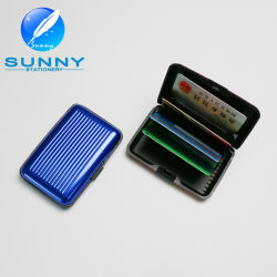 2015 Aluminium Credit Card Wallet, Metal ID Card Holder, Name Card Holder