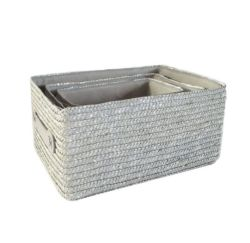 Wheat Straw Storage Basket Box