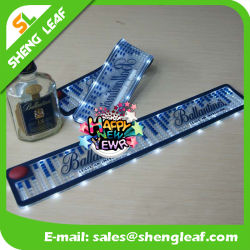 Custom Logo Promotion PVC Silicone Rubber LED Placemat