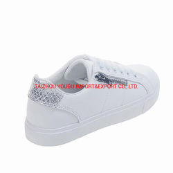 Sneakers Casual Shoes Ladies PU Sport Vulcanized Shoes 8664
